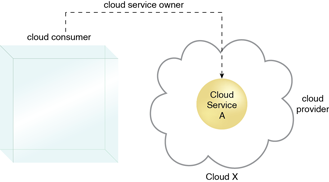 Cloud Service Owner : A cloud consumer can be a cloud service owner when it deploys its own service in a cloud.